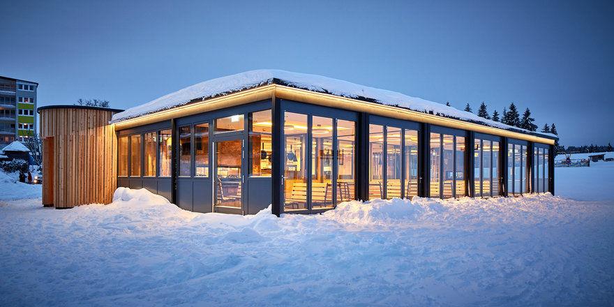 200 Plätze mit Außengelände: Das Rothaus Chalet