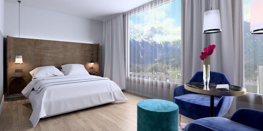 Stage 12 empf ngt erste g ste allgemeine hotel und for Design hotel berge