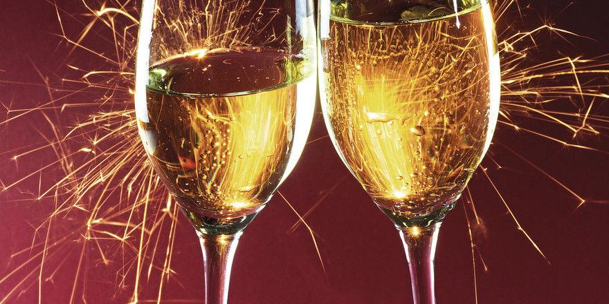 Gute Stimmung: Nicht nur die Gäste, auch die Gastronomen starteten froh ins neue Jahr.
