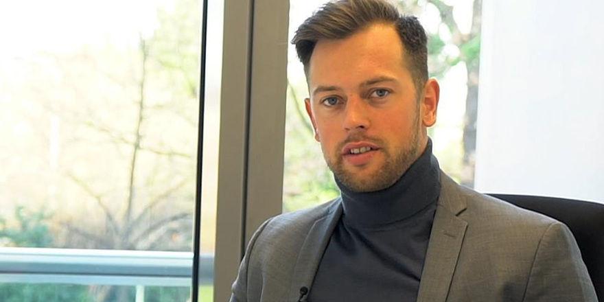 Landolf Ahnfeld: Der SRH-Student sammelte zuletzt Management-Erfahrung im Headoffice von Novum