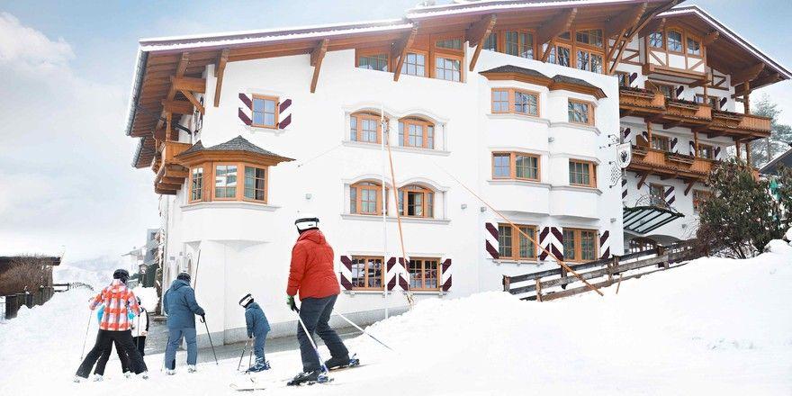 Kaiserhof in Kitzbühel: Optimaler Ausgangspunkt für die Piste