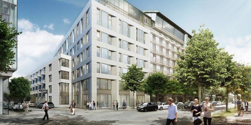 So soll's aussehen: Die geplante Erweiterung des Le Méridien Hamburg