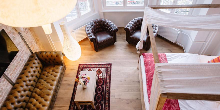 Lulu Goldsmeden: Entspannter Bio-Luxus in der Suite