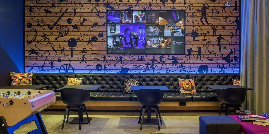 Zweites Moxy in London: Wohnzimmer-Ambiente für Geschäftsleute