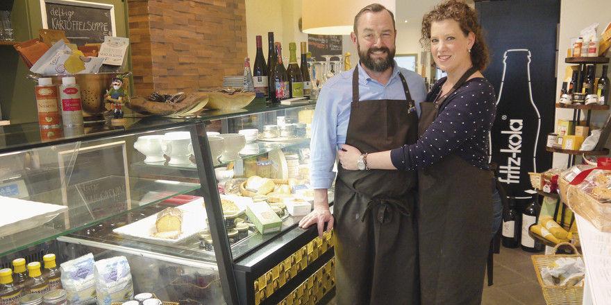Schwerpunkt Mittagstisch: Marcus und Christine Fleckenstein in ihrem neuen Lokal