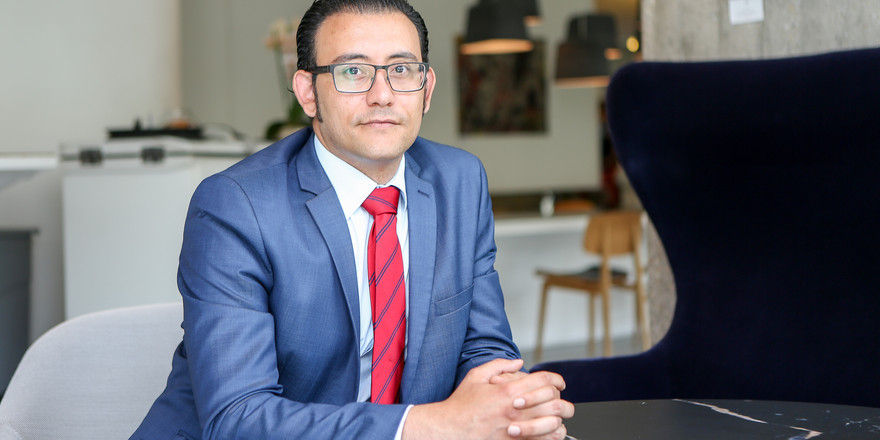 Neue Aufgabe: Bilal Al-Njadat