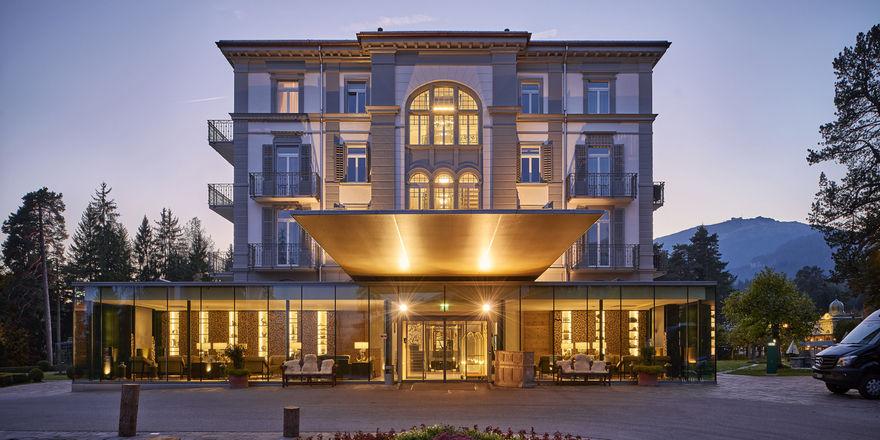Waldhaus Flims: Zeitgemäßer Luxus in historischer Kulisse