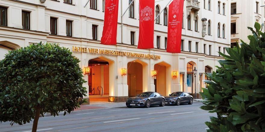 Feiert in diesem Jahr seinen 160. Geburtstag: Das Kempinski Vier Jahreszeiten in München