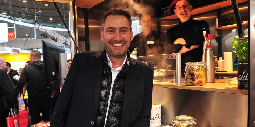 Andreas Brunsbach: 1000 Portionen pro Tag mit Tortellini von Bon Pastaio