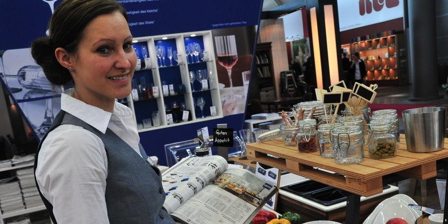 Manuela Fackler von Vega: Volle Flexibilität mit dem Buffetsystem Portland