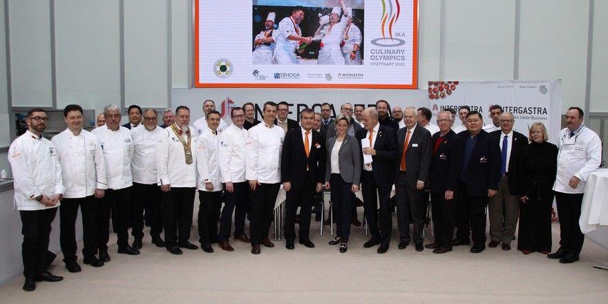 Gipfeltreffen der Köche in Stuttgart: Die neuen Richtlinien für die Olympiade der Köche wurden während der Intergastra verkündet.