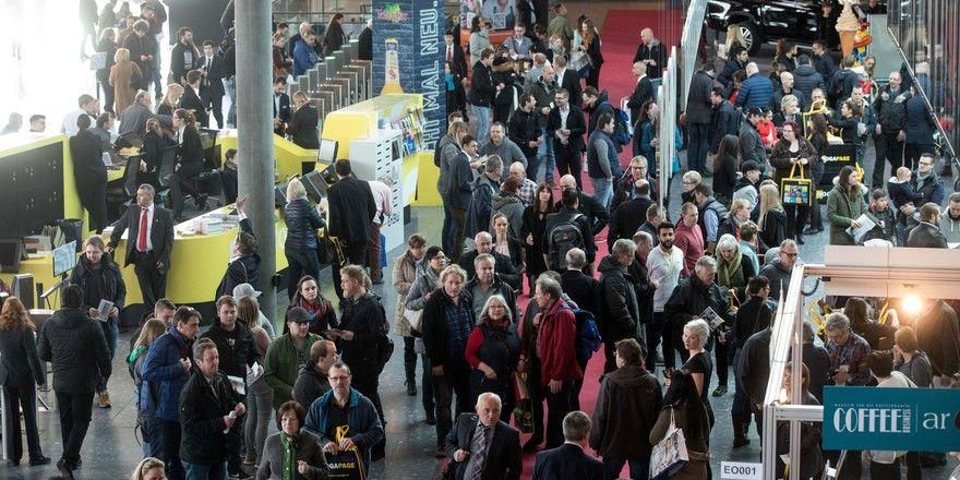 Volle Messehallen: Die Intergastra 2018 lockte viel Publikum an