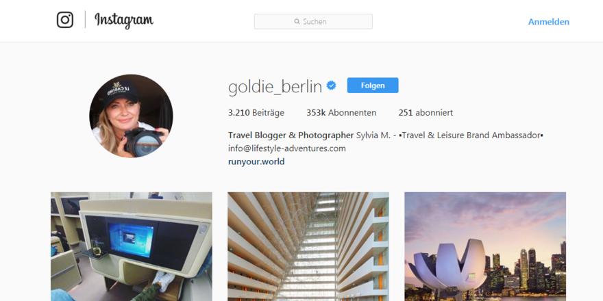 goldie_berlin: Mehr als 350.000 Fans