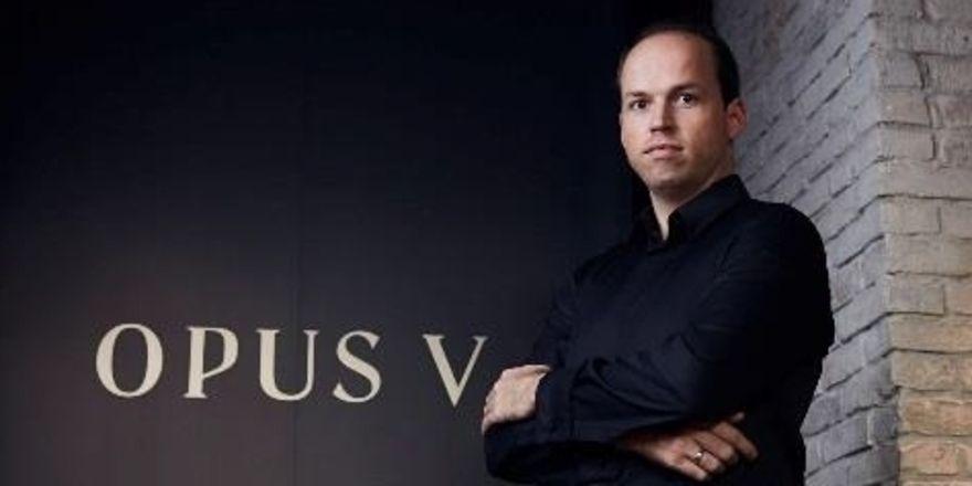 Neue Kollektion: Tristan Brandt präsentiert Bragard in seinem Lokal Opus V