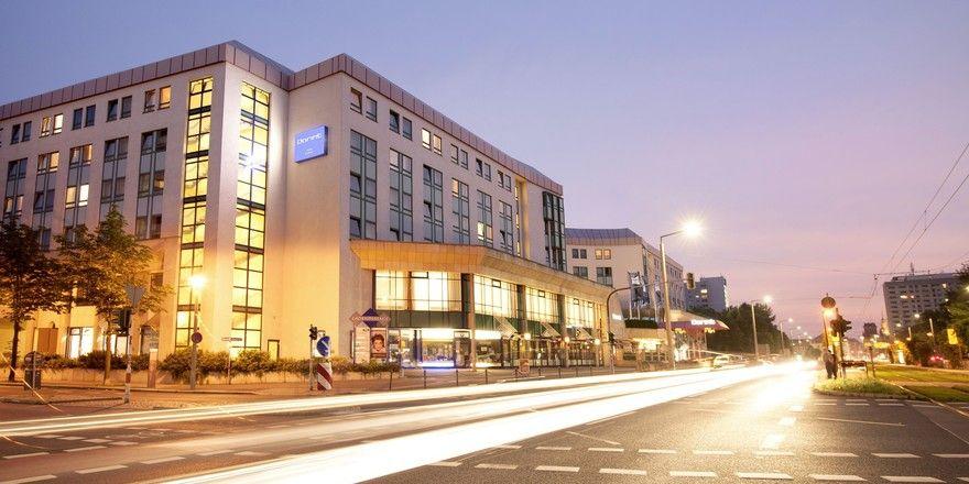 Vor dem 25-jährigen Jubiläum: Das Dorint Hotel Dresden wird bis 2019 modernisiert.