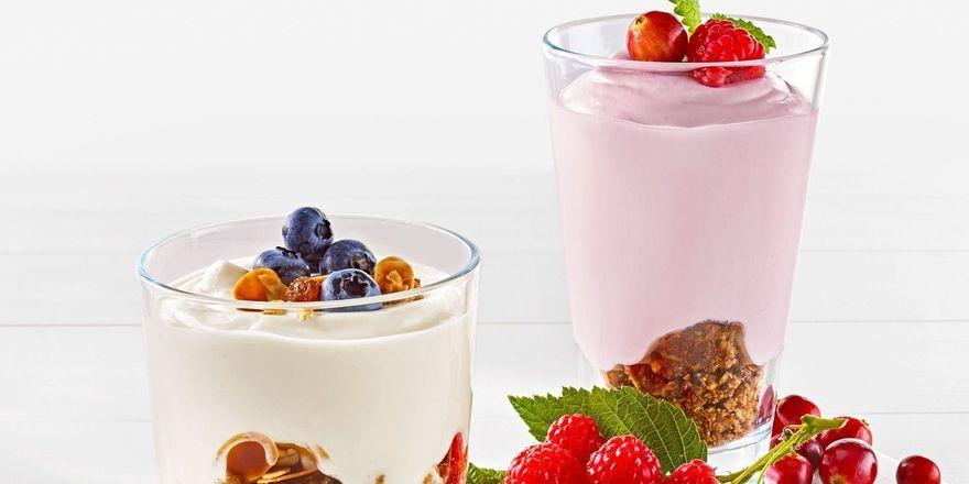 Neue Desserts: Milram Foodservice wirbt auf der Messe mit Skyr