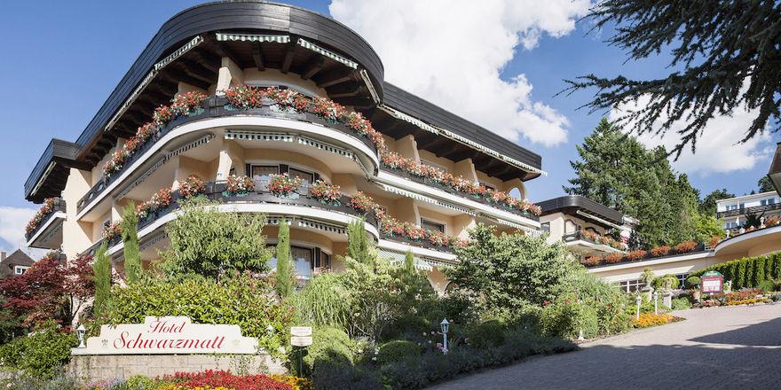 Seit 1973 auf dem Markt: Das Hotel Schwarzmatt in Badenweiler