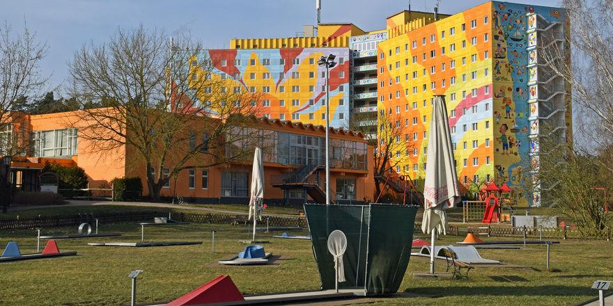 Ahorn Seehotel Templin: Eines der größten Kunstwerke Europas
