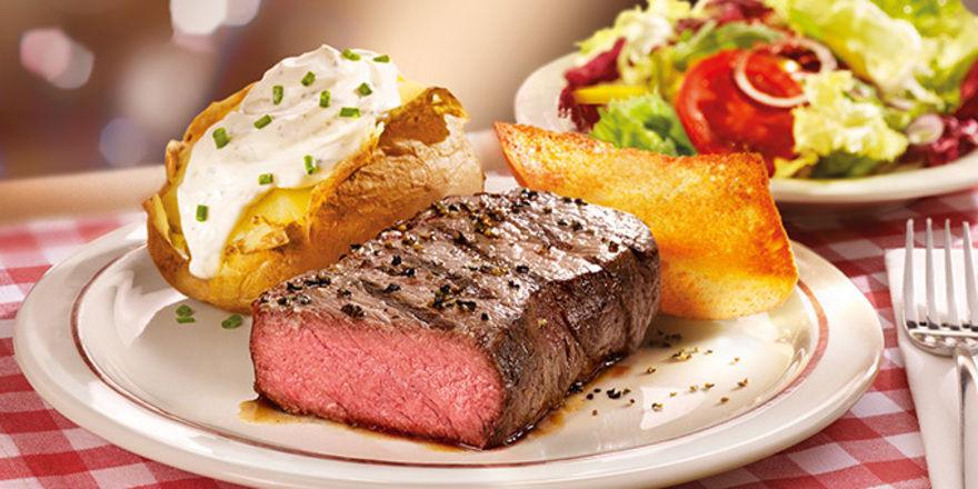 Gute Steaks: Das Markenzeichen von Block House