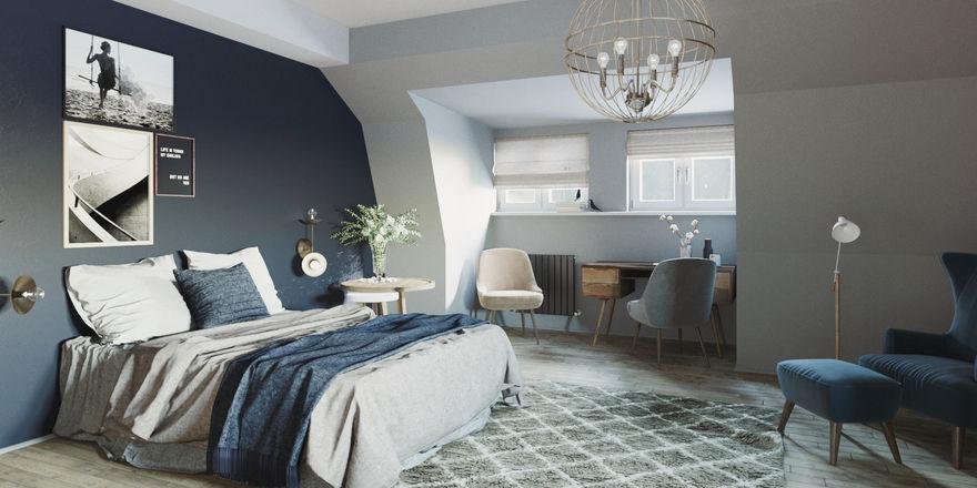 Maritim: Die Zimmer punkten mit Gemütlichkeit und dezentem, natürlichem Design.
