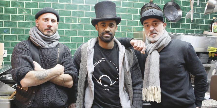 Cooles Trio: (von links) Die Gründer Patrick Walter, Daniel Günther und Thilo Wulf.