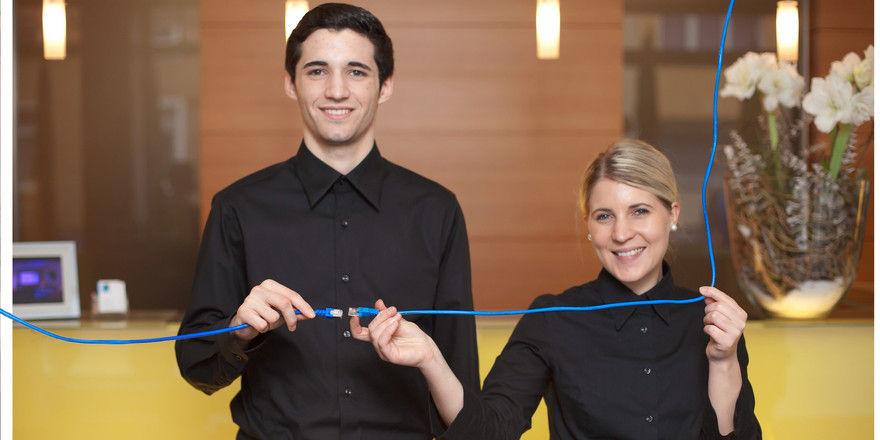 Das blaue Band: Symbol für Wertschätzung und Zusammengehörigkeitsgefühl im Hotel Der Blaue Reiter