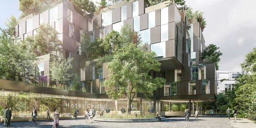 Geplantes Hotel am Hohenzollernring: Das künftige Ruby in Köln