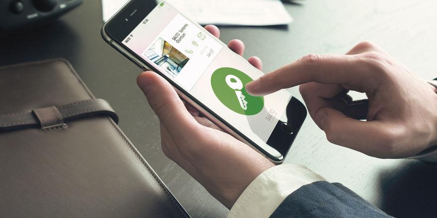 Mobiler Schlüssel: Mit Salto Systems können Hoteliers ihren Gästen per Handy Zugang zu ihrem Zimmer verschaffen.