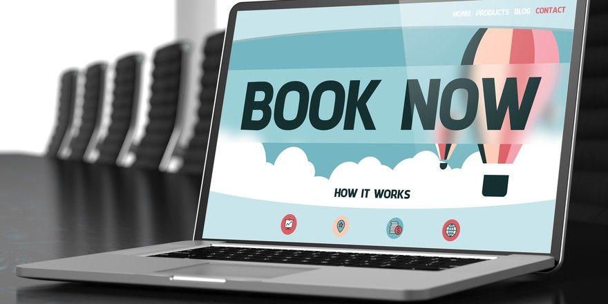 """Lockangebote: Das Portal Booking2room wirbt mit günstigen Preisen und Slogans wie """"Book now"""""""