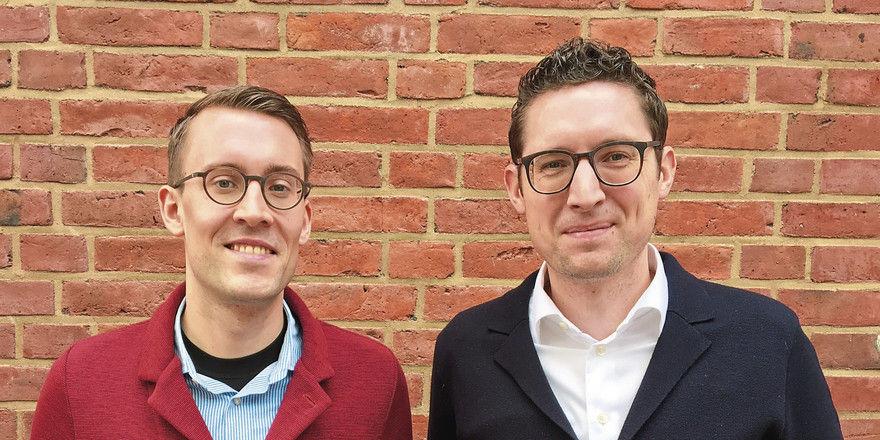 In diesem Sommer müssen sie vier Eröffnungen bewältigen: 25hours-Geschäftsführer Steffen Fox (links) und Michael End.