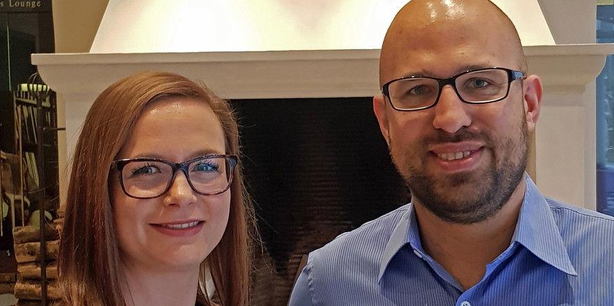 Gehen neue Aufgaben an: Lea Rogacki ist neue Verkaufsdirektorin. Marc Moberz übernimmt die Position des stellvertretenden Vertriebsdirektors