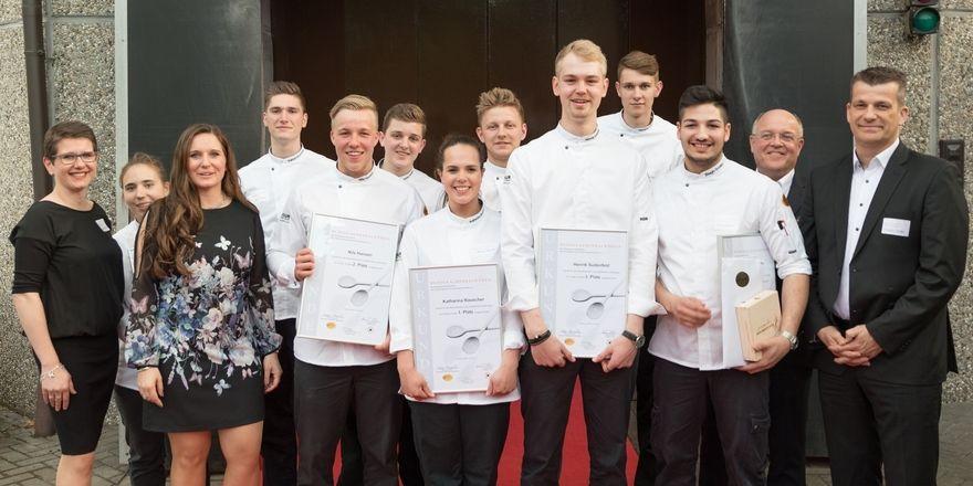 Rückblick: 2017 hat Katharina Rauscher das Finale gewonnen (vorne Mitte)