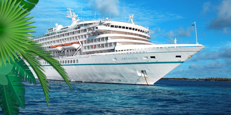 Die MS Artania: Für ein Praktikum an Bord werden noch Jungköche gesucht