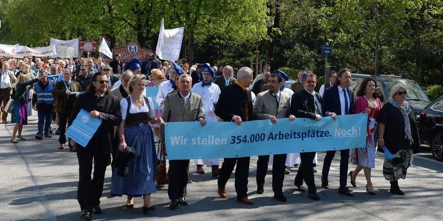 Erfolgreiche Kundgebung: Die Demonstration im Jahr 2013. Dieses Jahr gibt es nach fünf Jahren Pause wieder eine.