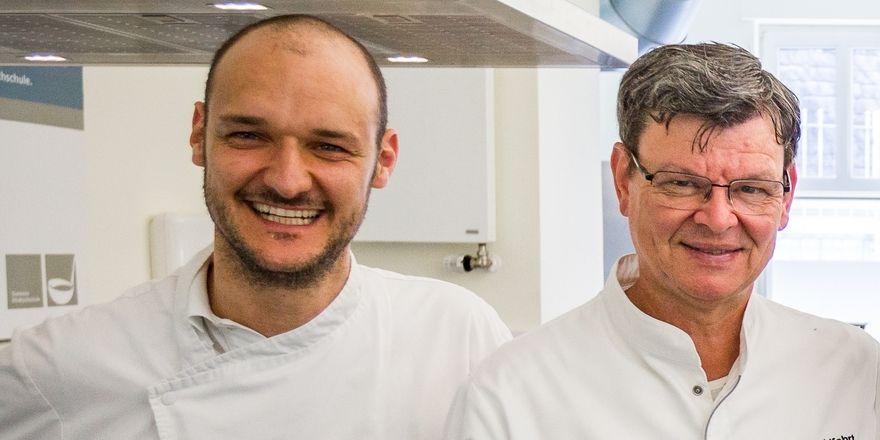Neue Geschäftspartner: Raphael Ianniello (links) und Harald Wohlfahrt mit ihrer Harald Wohlfahrt Fine Dining UG