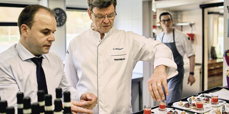 Harald Wohlfahrt: Der Spitzenkoch setzt künftig auf Caterings und Events.