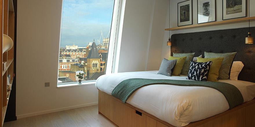 Ein Zimmer der Marke Wilde by Staycity: Die Gruppe bietet Apartments und Aparthotels für kurz- bis langfristige Aufenthalte