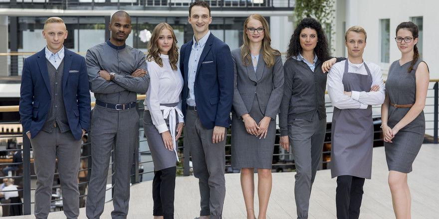 Flexibel einsetzbar: Die neue Modekollektion für die Mitarbeiter des Estrel Berlin