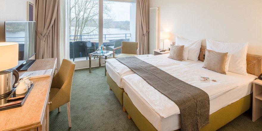 Wieder auf der Höhe der Zeit: Die 17 Komfort-Doppelzimmer im Krautkrämer