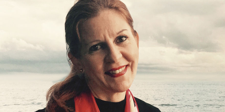 Sandra Simone Leibrock: Aus der Ferne zieht es sie regelmäßig in die Heimat.