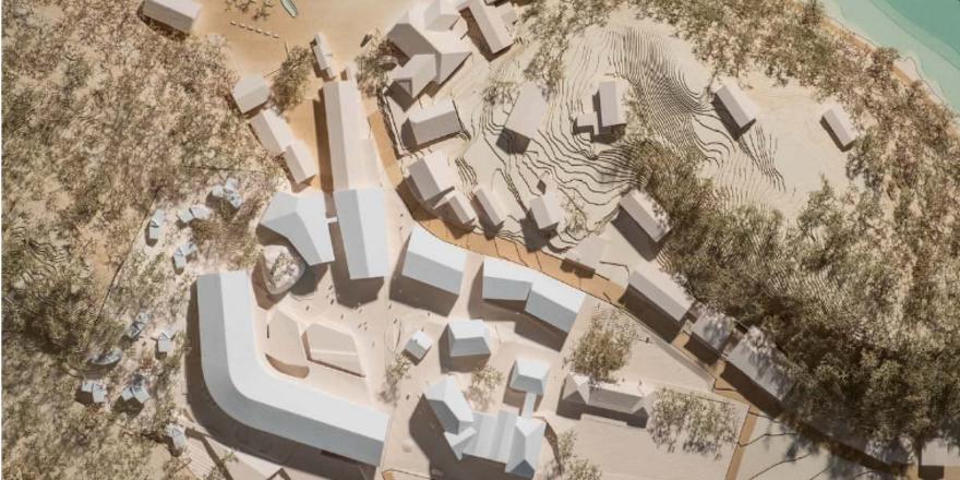 Dorfcharakter: So soll der geplante Komplex am Königssee aussehen
