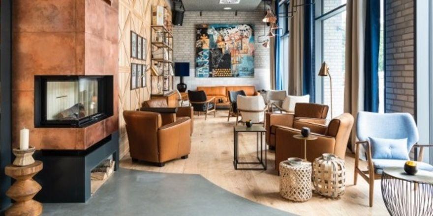 Individuelles Design: So präsentiert sich die Lounge des neuen Freigeist Hotels in Göttingen