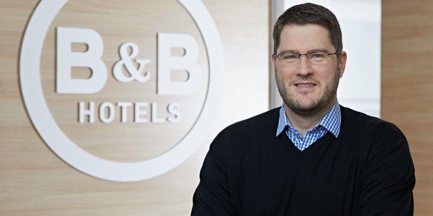 Setzt auf flexible Storno-Bedingungen: Max C. Luscher, Geschäftsführer bei B&B