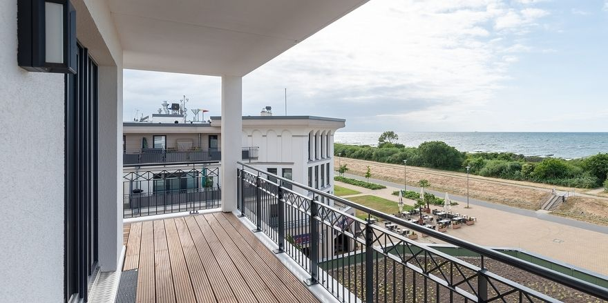 Freier Blick auf die Ostsee: Die neuen Upstalsboom Waterkant Suites