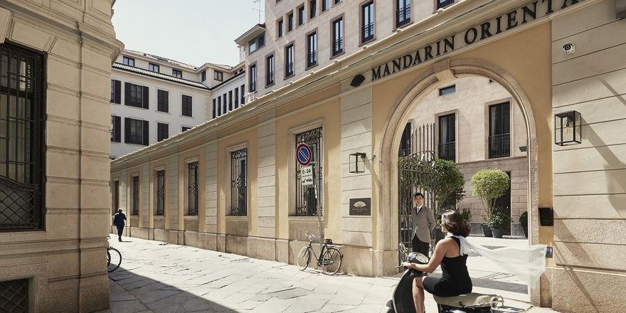 Gehören bald zusammen: Das durch Mandarin Oriental übernommene Resort am Comer See ergänzt künftig das Mandarin Oriental Mailand