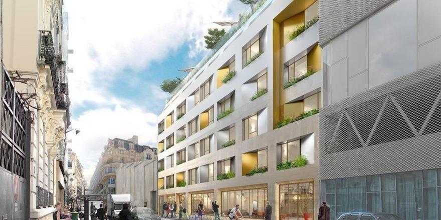 So soll es aussehen: Das Jo & Joe Paris Buzenval Open House (Rendering)