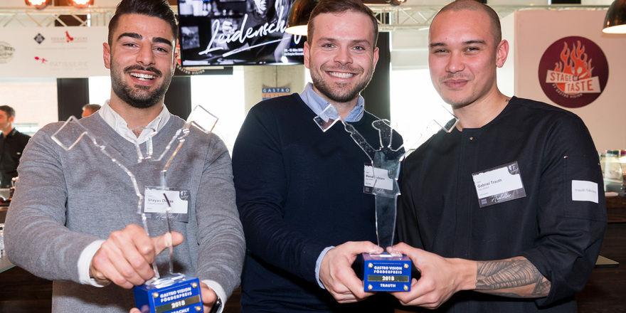 Gewinner des Gastro Vision Förderpreises 2018: Freachly und Trauth Fabrikate