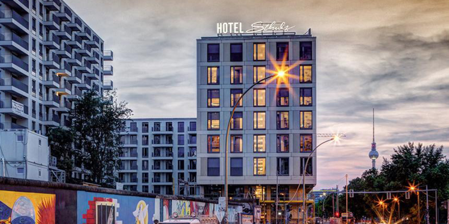 Hat 350 Zimmer: Das Schulz Hotel Berlin