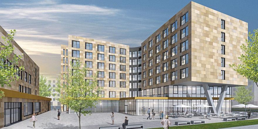 In Planung: Das Haus in Gateway Gardens soll über 172 Apartments verfügen.
