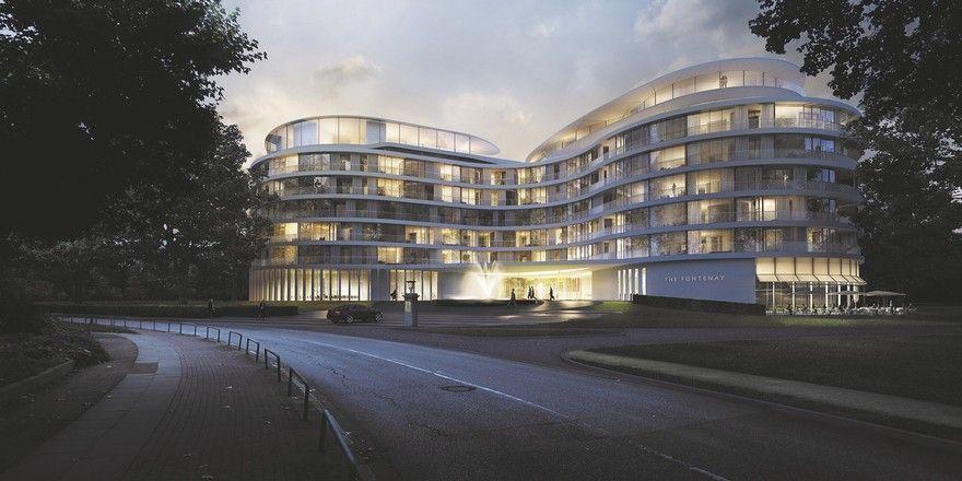 Spannende Kongress-Location: Das im März eröffnete The Fontenay in Hamburg